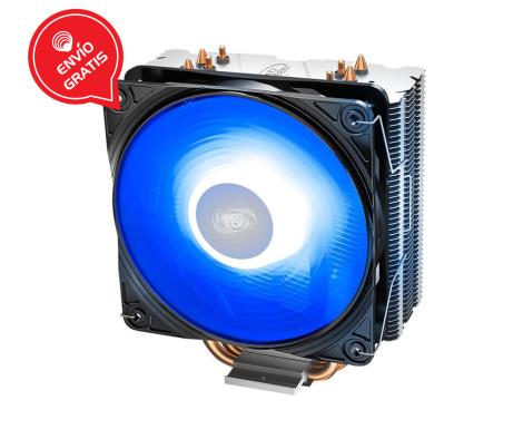 DEEPCOOL GAMMAXX 400 V2 (Azul) 1 X 120mm DP-MCH4-GMX400V2-BL Disipador diagonal