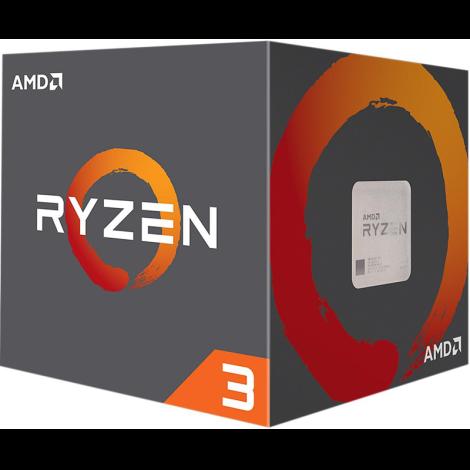 AMD Ryzen 3 1200 4 Core 3.1 GHz (3.4 GHz Turbo) Procesador YD1200BBAEBOX empaque