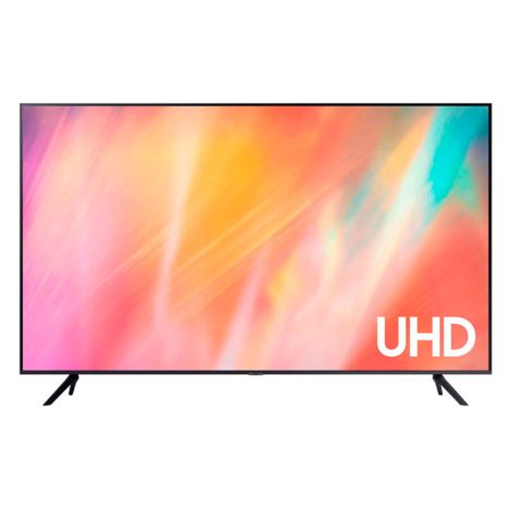 SAMSUNG 55 UHD 4K SMART TV AU7000 HDMI USB Televisor Frontal