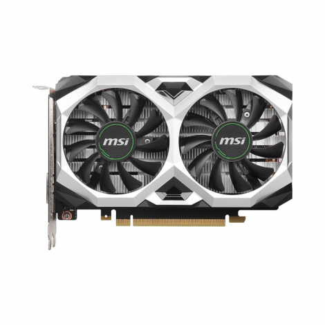 MSI GeForce GTX 1650 SUPER VENTUS XS OC 4GB Dual Fan  Tarjeta de Video FRONTAL