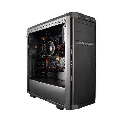 Cometware HALLEY Rigel DSAT3000GA320 AMD ATHLON 3000G 3.5GHZ 8GB 240GB SATA Radeon Vega 3 diagonal