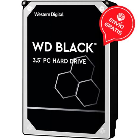 WD 4TB Black 128MB SATA III WD4004FZWX Disco Duro  Gratis