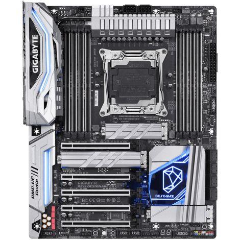 GIGABYTE X299 DESIGNARE EX RGB Board frontal