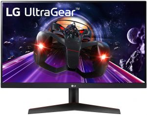 LG 23.8¨ 24GN600-B FHD IPS HDR10 HDMI DP 144Hz 1ms Monitor Gamer FRONTAL
