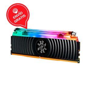 ADATA XPG 16GB DDR4 3200Mhz liquida RGB SPECTRIX D80 AX4U3200716G16A-SB80 Negra Memoria RAM Gratis