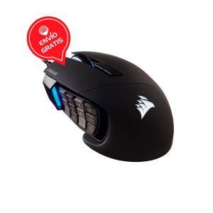 Corsair SCIMITAR Elite RGB Negro Mouse Gaming DIAGONAL GRATIS