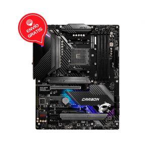 MSI B550 GAMING CARBON WIFI RGB AM4 AMD128GB Atx Board FRONTAL GRATIS