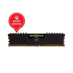 CORSAIR MEMORIA 8GB VENGEANCE LPX 3200MHZ Memoria Ram FRONTAL
