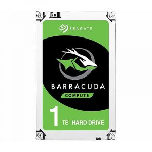 Seagate BarraCuda 1Tb 64Mb SATA III ST1000DM010 Disco Duro frontal