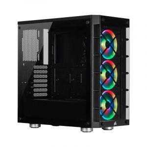 CORSAIR iCUE 465X 3*120mm RGB VIDRIO LATERAL CC-9011188-WW ATX Torre diagonal