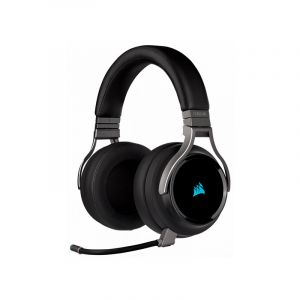 CORSAIR VIRTUOSO RGB WIRELESS CARBONAudifonos Gamer diagonal