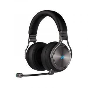 CORSAIR VIRTUOSO RGB WIRELESS GRIS PLOMO Audifonos Gamer Diagonal