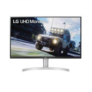 "LG 31.5"" 32UN550-W 4K UHD HDR 10 VA HDMI DP 60Hz 4ms Monitor Gamer frontal"
