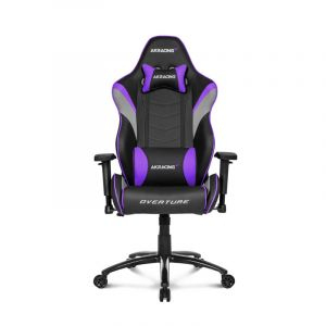 AKRACING Overture Series Roja   AK-OVERTURE-RD Silla Gamer frontal