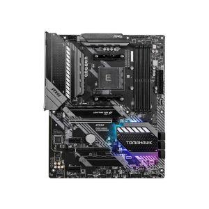 MSI B550 MAG TOMAHAWK AM4 AMD 128GB RGB ATX Board frontal