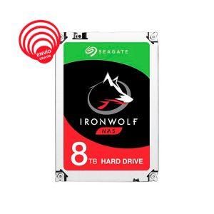 Seagate IronWolf 8TB 7200RPM 256MB SATA III ST8000VN0022 Disco Duro frontal