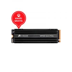 CORSAIR 500GB MP600 M.2 2280 NVME PCIE 4.0 x4 CSSD-F500GBMP600 DISCO SOLIDO frontal
