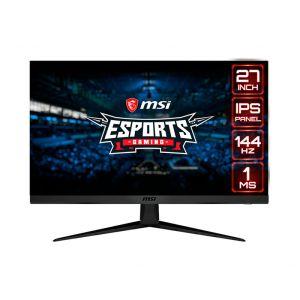 "MSI OPTIX G271 27"" FHD IPS 2xHDMI 1.4 1xDP 1.2 144Hz 1ms Monitor Frontal"