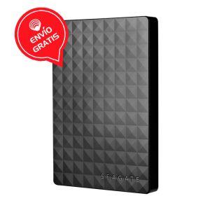 Seagate 4TB Expansión Negro STEA4000400 Disco Externo diagonal