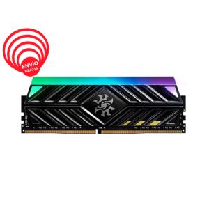 ADATA XPG 16GB DDR4 3000Mhz RGB SPECTRIX D41 AX4U3000716G16A-ST41 Negra Memoria RAM frontal gratis