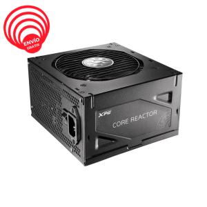 XPG 650W REACTOR 80 PLUS GOLD Modular COREREACTOR650G-BKCUS Fuente de Poder diagonal