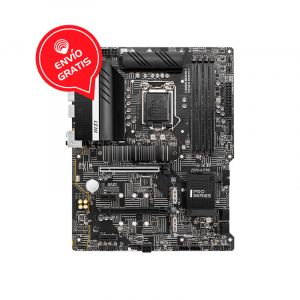 MSI Z590-A PRO INTEL 10Th 11Th ATX Board FRONTAL GRATIS