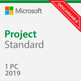 Microsoft Project Estandar 2019 076-05785 ESD Licencia Descargable