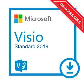 Microsoft Visio Estandar 2019 D86-05822 ESD Licencia
