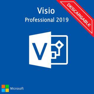 Microsoft Visio PRO 2019 D87-07425 ESD Licencia Descargable